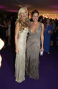 Caprice Bouret and Rebecca Loos. British Red Cross London Ball,- H20 the Element of Life held at the Room By the River. SE1. 17 November 2005. ONE TIME USE ONLY - DO NOT ARCHIVE  © Copyright Photograph by Dafydd Jones 66 Stockwell Park Rd. London SW9 0DA Tel 020 7733 0108 www.dafjones.com