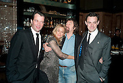 JAMES PUREFOY;  SIENNA MILLER; SIR TREVOR-NUNN; HARRY HADDEN-PATON,,, After -party celebrating the Gala Preview of the new west end production of Flare Path, Whitehall. March 10 2011.  -DO NOT ARCHIVE-© Copyright Photograph by Dafydd Jones. 248 Clapham Rd. London SW9 0PZ. Tel 0207 820 0771. www.dafjones.com.