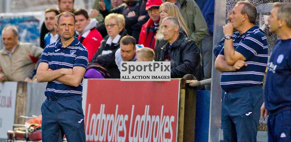 Forfar v Dunfermline Athletic Petrofac cup second round Station Park 18 August 2015<br /> Allan Johnston  <br /> CRAIG BROWN | sportPix.org.uk