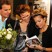 NLD/Amsterdam/20101011 - Presentatie By Danie Styleguide magazine, Leco Zadelhoff, Leontine Borsato - Ruiters, Sylvie van der Vaart en Danie Bles