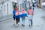 Afternoon of the World Cup Final 15 July 2018, Croatia vs France. Zagreb, Croatia © Rudolf Abraham