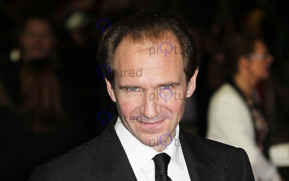 LONDON - OCTOBER 21: Ralph Fiennes attended the European Film Premiere of 'Great Expectations' at the Odeon Leicester Square, London, UK. October 21, 2012. (Photo by Richard Goldschmidt)