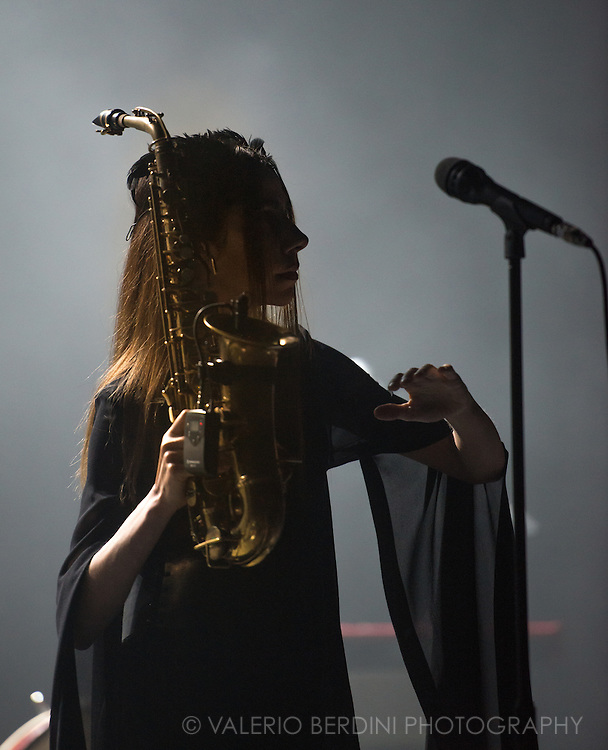 PJ Harvey takes her The Hope Six Demolition tour for the first of two sold out London dates at the Brixton Academy on 30 October 2016