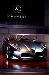 Mercedes Benz F400 concept vehicle