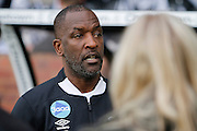 Derby County Assistant Manager Chris Powell during the EFL Sky Bet Championship match between Derby County and Wigan Athletic at the iPro Stadium, Derby, England on 31 December 2016. Photo by Richard Holmes.