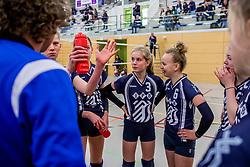 31-03-2018 NED: Finale C Volleybaldirect Open, Wognum<br /> 16 teams van meisjes en jongens C streden om het Nederlands Kampioenschap / Dinto