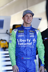 March 3, 2017 - Hampton, Georgia, United States of America - March 03, 2017 - Hampton, Georgia, USA: Trevor Bayne (6) hangs out in the garage prior to practice for the Folds of Honor QuikTrip 500 at Atlanta Motor Speedway in Hampton, Georgia. (Credit Image: © Justin R. Noe Asp Inc/ASP via ZUMA Wire)