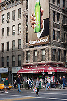 Spring Street and Lafayette Street in New York City October 2008