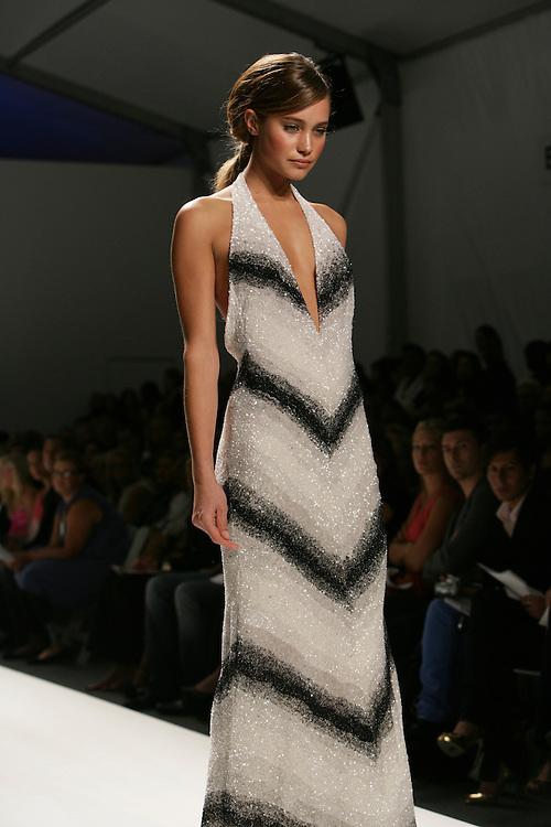 Pamella Roland<br /> Spring/Summer 2009 Collection<br /> Mercedes-Benz Fashion Week <br /> New York, NY, Sept, 2008