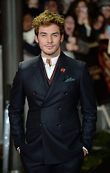 Sam Claflin arrives for The Hunger Games: Catching Fire premiere, Leicester Square, London, United Kingdom. Monday, 11th November 2013. Picture by Andrew Parsons / i-Images