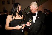 HEIDI HSUEH; STANLEY JOHNSON, National Portrait Gallery fundraising Gala in aid of its Education programme, National Portrait Gallery. London. 3 March 2009 *** Local Caption *** -DO NOT ARCHIVE-© Copyright Photograph by Dafydd Jones. 248 Clapham Rd. London SW9 0PZ. Tel 0207 820 0771. www.dafjones.com.<br /> HEIDI HSUEH; STANLEY JOHNSON, National Portrait Gallery fundraising Gala in aid of its Education programme, National Portrait Gallery. London. 3 March 2009