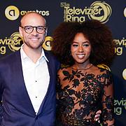 NLD/Amsterdam/20181011 - Televizier Gala 2018, .... en Eva Cleven