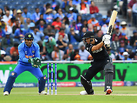 Cricket - 2019 ICC Cricket World Cup - Semi-Final: India vs. New Zealand<br /> <br /> New Zealand's Ross Taylor in action today during the ICC Cricket World Cup match between India and New Zealand, at Old Trafford, Manchester.<br /> <br /> COLORSPORT/ASHLEY WESTERN