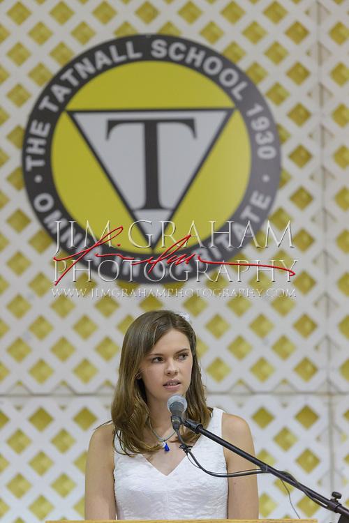 at The Tatnall School's 2017 Commencement exercises in Greenville, De. on 10 June 2017. Photograph © Jim Graham 2017