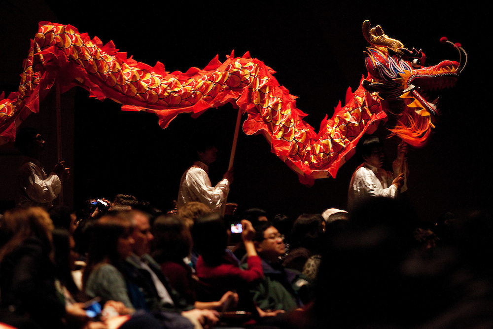 The Chinese New Year Show was hosted at the Memorial Auditorium in Athens, Ohio on Sunday, February 10, 2013. Photo by Chris Franz