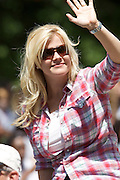 Actress and the host of The Biggest Loser Alison Sweeney seen at the Indy 500 Festival Parade on May 25, 2008. Photo by Michael Hickey