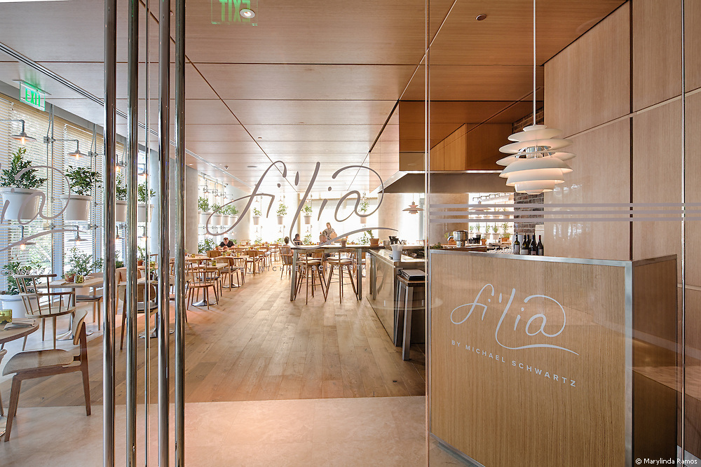 Fi'lia, Michael Schwartz' latest restaurant, at SLS Brickell.