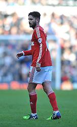 Nottingham Forest's Henri Lansbury who scored an own goal to make it 1 0 - Photo mandatory by-line: Dougie Allward/JMP - Mobile: 07966 386802 - 17/01/2015 - SPORT - Football - Derby - iPro Stadium - Derby County v Nottingham Forest - Sky Bet Championship