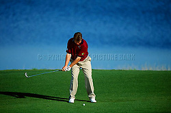 Lee Westwood iron swing sequence<br /> EDITORIAL USE ONLY-NO MODEL RELEASE.