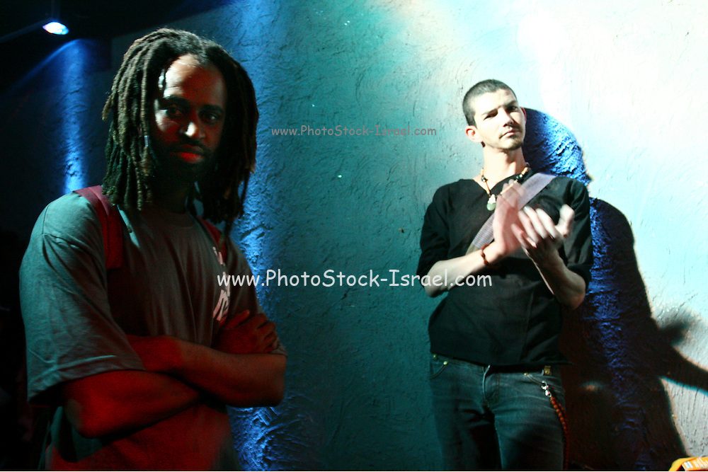 "Israeli bands are preforming at the ""Groove Refugee"" festival that took place in Tel Aviv. All income will serve the struggle to prevent banishment of children of African labour immigrants and refugees from Israel. Saturday, May 12, 2007."