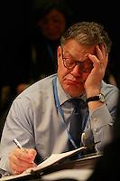Al Franken w Chief US negotiator Todd Stern-COP21