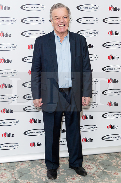 © Licensed to London News Pictures. 30/01/2018. London, UK. TONY BLACKBURN attends The Oldie Of The Year Awards 2018 held at Simpsons In The Strand. Photo credit: Ray Tang/LNP