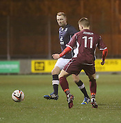 Stephen Hughes - Stenhousemuir v Dundee, SPFL Reserve League Cup at Ochilview<br /> <br /> <br />  - &copy; David Young - www.davidyoungphoto.co.uk - email: davidyoungphoto@gmail.com