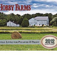 cover of Hobby Farms 2012 calendar