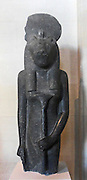 The goddess Sekhmet, reign of Amenhotep III (1391-1353 BC) 18th dynasty, diorite
