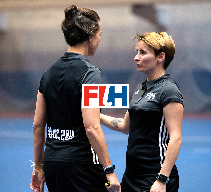 BERLIN - Indoor Hockey World Cup<br /> Women: Ukraine - Czech Republic<br /> foto: ALVES Karine.<br /> WORLDSPORTPICS COPYRIGHT FRANK UIJLENBROEK