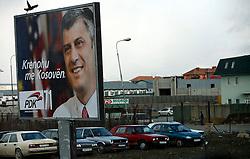 PRISTINA, KOSOVO - DECEMBER 14