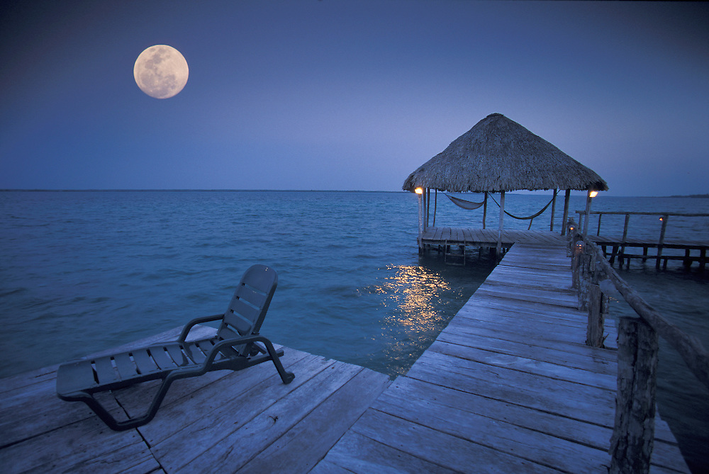 Lagoon Bacalar,Bacalar, Quintana Roo, Mexico