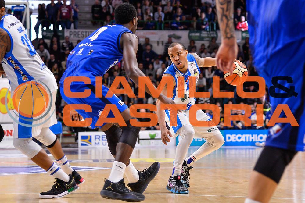 William Hatcher<br /> Banco di Sardegna Dinamo Sassari - Germani Basket Leonessa Brescia<br /> Legabasket Serie A LBA PosteMobile 2017/2018<br /> Sassari, 08/04/2018<br /> Foto L.Canu / Ciamillo-Castoria