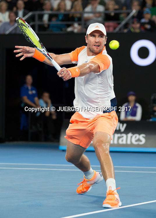 MISCHA ZVEREV (GER)<br /> <br /> Australian Open 2017 -  Melbourne  Park - Melbourne - Victoria - Australia  - 24/01/2017.