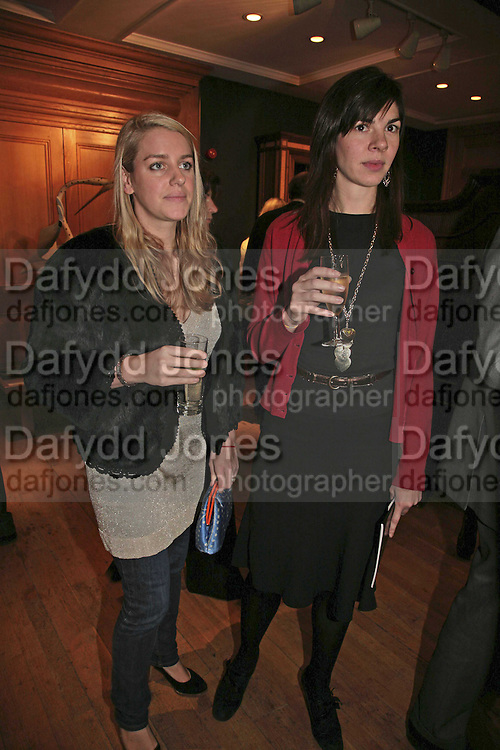 Laura Parker Bowles and Lorna Lopes,  Reception and auction of Wildlife and Sporting Art in aid of the game Conservancy Trust. Christie's. King St. London W1. 12 December 2006. ONE TIME USE ONLY - DO NOT ARCHIVE  © Copyright Photograph by Dafydd Jones 248 CLAPHAM PARK RD. LONDON SW90PZ.  Tel 020 7733 0108 www.dafjones.com
