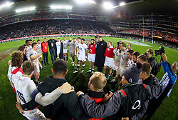 General views of England- Mandatory by-line: Steve Haag/JMP - 23/06/2018 - RUGBY - DHL Newlands Stadium - Cape Town, South Africa - South Africa v England 3rd Test Match, South Africa Tour