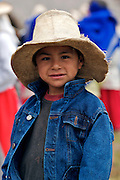 A BOY FROM THE TOWN OF LAMUD IN THE NORTHEN ANDES.