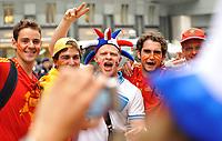 GEPA-2606087304 - WIEN,AUSTRIA,26.JUN.08 - FUSSBALL - UEFA Europameisterschaft, EURO 2008, Host City Fan Zone, Fanmeile, Fan Meile, Public Viewing. Bild zeigt Fans.<br />Foto: GEPA pictures/ Reinhard Mueller