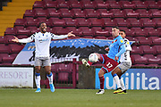 Scunthorpe United player Lee Novak (17) during the EFL Sky Bet League 2 match between Scunthorpe United and Colchester United at Glanford Park, Scunthorpe, England on 14 December 2019.