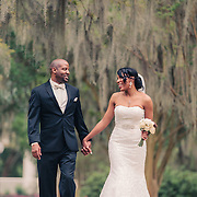 Images from Jennifer and David's wedding at Rivertowne Country Club and  day-after portraits at Hampton Park in Charleston, SC.