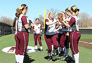 February 18, 2014: The West Texas A&M University Buffalo play against the Oklahoma Christian University Lady Eagles in the inaugural game at Tom Heath Field at Lawson Plaza on the campus of Oklahoma Christian University.