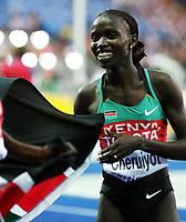 Friidrett , 22. august 2009 , VM Berlin ,  <br /> Vivian Cheruiyot , KEN vant 5000 meter