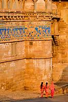 Inde, état du Madhya Pradesh, Gwalior, Fort Palais de Man Singh // India, Madhya Pradesh state, Gwalior, Fort Palais of Man Singh