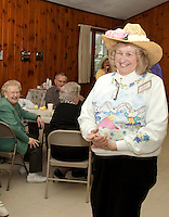 Laconia Elder Friendship Club Easter Hat Parade at Leavitt Park Clubhouse April 20, 2011.