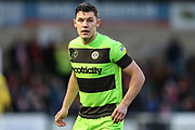 Forest Green Rovers Paul Digby(20) during the EFL Sky Bet League 2 match between Lincoln City and Forest Green Rovers at Sincil Bank, Lincoln, United Kingdom on 3 November 2018.