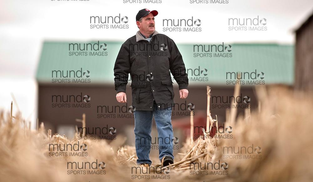 London, Ontario ---04/04/07--- Corn producer Tom Wilson at his farm near Sarnia, Ontario April 4, 2007..GEOFF ROBINS The Globe and Mail