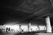 Under the bridge, 12v Teknival, Bristol, July 2011