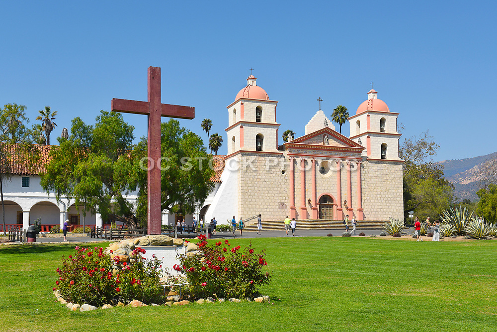 Cross at Santa Barbara Mission
