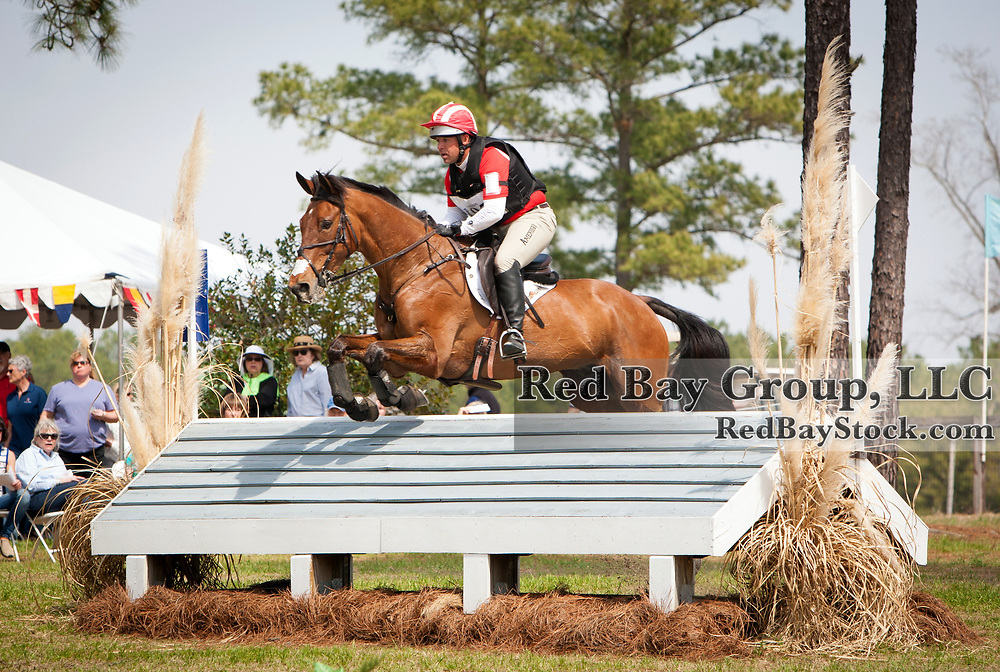 Buck Davidson (USA) and Ballynoecastle RM at the Carolina International in Raeford, North Carolina.