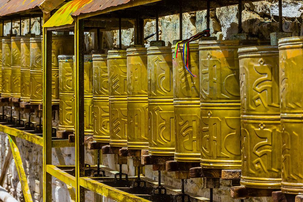 Yambulakhang Palace, Tibet, China.